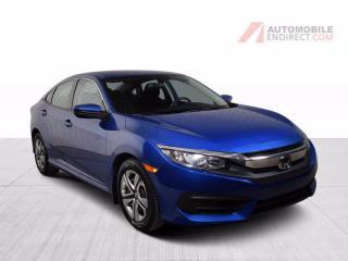 Used 2017 Honda Civic LX A/C Bluetooth Caméra de recul for sale in St-Hubert, QC
