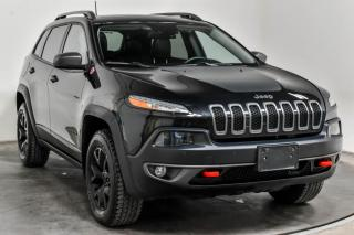 Used 2016 Jeep Cherokee TRAILHAWK V6 AWD  CUIR TOIT NAV for sale in St-Hubert, QC