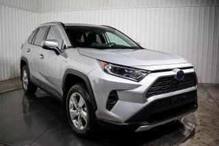 Used 2020 Toyota RAV4 HYBRID LIMITED AWD CUIR TOIT NAV for sale in St-Hubert, QC