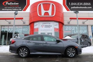 Used 2017 Honda Civic Sedan EX - BLIND SPOT CAMERA HEATED SEATS - for sale in Sudbury, ON