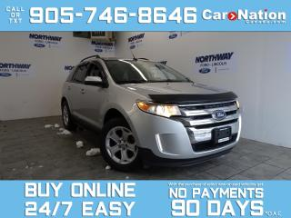 Used 2013 Ford Edge SEL | NAV | LOW KMS! | NEW CAR TRADE! for sale in Brantford, ON