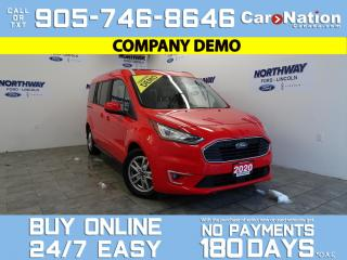 Used 2020 Ford Transit Connect TITANIUM | SUNROOF | NAV | LEATHER | 6 PASSENGER for sale in Brantford, ON
