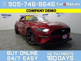 Used 2020 Ford Mustang GT PREMIUM | PERFORMANCE PKG 2 | SAFE & SMART PKG for sale in Brantford, ON
