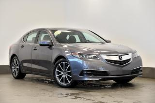 Used 2017 Acura TLX V6 SH-AWD TECH + CUIR + TOIT + GPS + BLUETOOTH for sale in Ste-Julie, QC