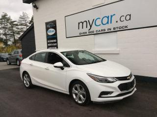 Used 2018 Chevrolet Cruze Premier Auto LEATHER, HEATED SEATS, BACKUP CAM, BLUETOOTH!! for sale in North Bay, ON