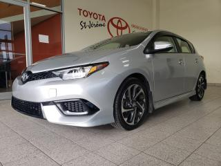 Used 2018 Toyota Corolla iM * GR ELECT * A/C * MAGS * SIEGES CHAUFFANTS * for sale in Mirabel, QC