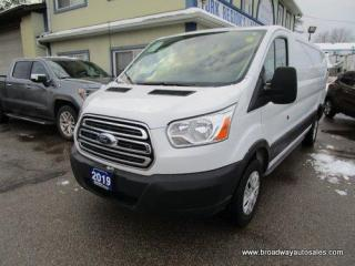 Used 2019 Ford Transit CARGO MOVING 250-EDITION 2 PASSENGER 3.7L - V6.. EXTENED-CARGO.. LOW-ROOF-BOX.. BARN-STYLE-PASSENGER DOOR.. BACK-UP CAMERA.. 148-INCH-WHEEL-BASE.. for sale in Bradford, ON