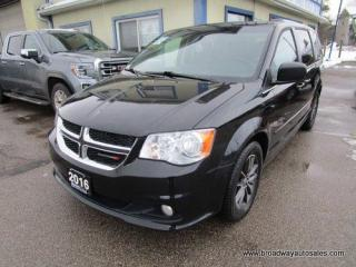 Used 2016 Dodge Grand Caravan FAMILY MOVING SE PLUS 7 PASSENGER 3.6L - V6.. CAPTAINS.. STOW-N-GO.. ECON-PACKAGE.. NAVIGATION.. DVD PLAYER.. BACK-UP CAMERA.. POWER SLIDING DOORS.. for sale in Bradford, ON