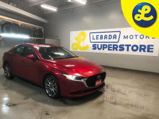 Used 2019 Mazda MAZDA3 GT SKYACTIV-G * Navigation * Sunroof * Leather * Smart City Brake Support (SCBS) and Rear Cross Traffic Alert (RCTA) Advanced Blind Spot Monitoring (A for sale in Cambridge, ON