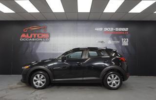 Used 2017 Mazda CX-3 GX AUTOMATIQUE A/C CAMERA BLUETOOTH 76 487 KM !! for sale in Lévis, QC
