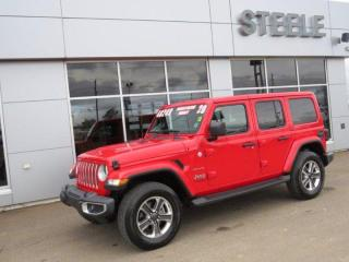 Used 2020 Jeep Wrangler Unlimited Sahara for sale in Fredericton, NB