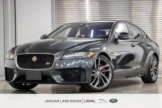 Used 2017 Jaguar XF S AWD *NOUVELLE ARRIVÉE, 380HP!* for sale in Laval, QC
