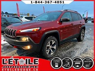 Used 2016 Jeep Cherokee TRAILHAWK 4X4 V6 for sale in Jonquière, QC