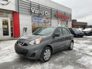 Used 2019 Nissan Micra S *** 3 EN INVENTAIRE + AUTOMATIQUE + A/C *** ENCORE NEUVE!!! for sale in Val-d'Or, QC