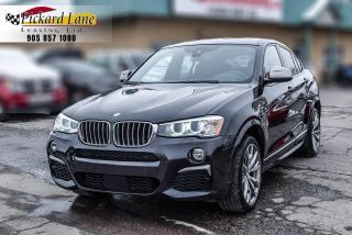 Used 2017 BMW X4 M40i ACCIDENT FREE! | 1 OWNER!  ONTARIO VEHICLE! for sale in Bolton, ON