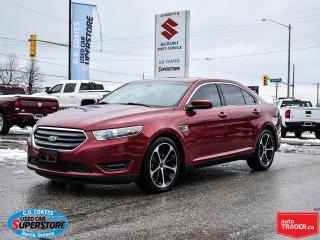 Used 2015 Ford Taurus SEL AWD ~Nav ~Cam ~Heated Leather ~Power Moonroof for sale in Barrie, ON