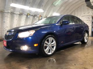 Used 2012 Chevrolet Cruze LT Turbo+ * Power sunroof *  On star * Hands free steering wheel controls * Phone connect * Voice recognition * Keyless entry * Climate control * Crui for sale in Cambridge, ON