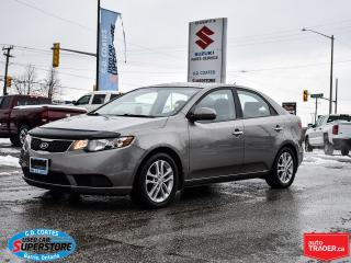 Used 2011 Kia Forte EX ~Heated Seats ~Fog Lamps ~Alloy Wheels ~A/C for sale in Barrie, ON