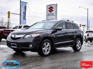 Used 2014 Acura RDX AWD ~Heated Leather ~Power Moonroof ~Backup Camera for sale in Barrie, ON