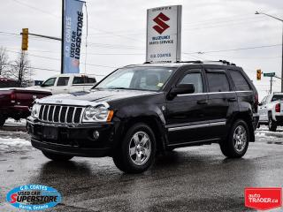 Used 2007 Jeep Grand Cherokee Overland 4x4 ~DIESEL ~Nav ~DVD ~Cam ~Leather ~Roof for sale in Barrie, ON