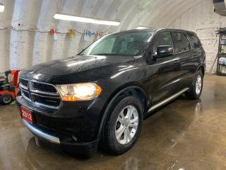 Used 2012 Dodge Durango SXT AWD * 7 Passenger * Cruise Control * Steering Wheel Controls * Keyless Entry * Automatic Headlights * Automatic Front Windows * Dual Climate Contr for sale in Cambridge, ON