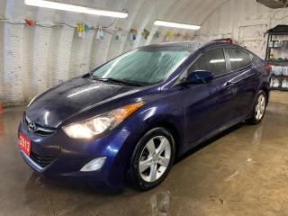 Used 2013 Hyundai Elantra GLS * Sunroof * Heated Front & Rear Cloth Seats * Keyless Entry * Cruise Control * Steering Wheel Controls *  12V Power Outlet * 16 Alloys * Tinted W for sale in Cambridge, ON
