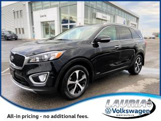 Used 2018 Kia Sorento EX AWD - LEATHER for sale in PORT HOPE, ON
