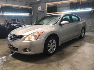 Used 2012 Nissan Altima Push button ignition * Hands free steering wheel controls * Keyless entry/Passive entry * Climate control * Cruise control * Traction control * Interm for sale in Cambridge, ON