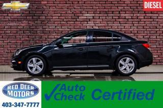 Used 2015 Chevrolet Cruze Diesel Leather Roof Nav BCam for sale in Red Deer, AB
