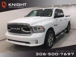 Used 2018 RAM 1500 Limited Crew Cab EcoDiesel | Leather | Sunroof | Navigation | for sale in Regina, SK