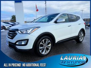 Used 2013 Hyundai Santa Fe 2.0T SE - Leather / Panoramic sunroof for sale in Port Hope, ON