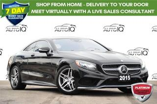 Used 2015 Mercedes-Benz S-Class 4MATIC | 4.7L V8 | SWAROVSKI HEADLIGHTS for sale in Kitchener, ON