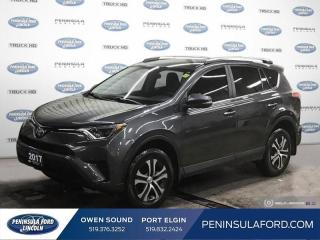 Used 2017 Toyota RAV4 LE - Heated Seats -  Bluetooth - $134 B/W for sale in Port Elgin, ON