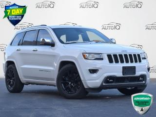 Used 2015 Jeep Grand Cherokee Overland DIESEL | 4WD | LEATHER | for sale in Waterloo, ON