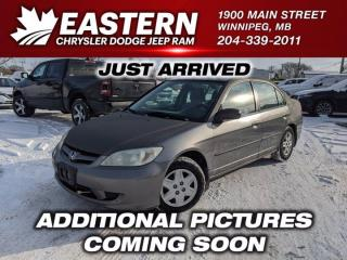 Used 2004 Honda Civic Sdn SE for sale in Winnipeg, MB
