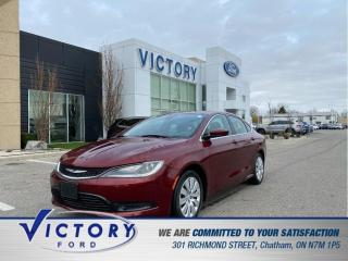 Used 2015 Chrysler 200 LX| BLUETOOTH| KEYLESS ENTRY for sale in Chatham, ON