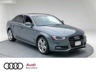 Used 2015 Audi A4 2.0T Progressiv quattro 8sp Tiptronic for sale in Burnaby, BC