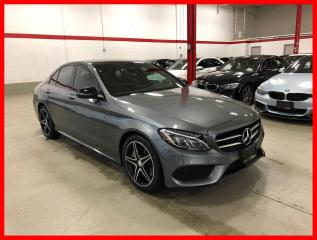 Used 2017 Mercedes-Benz C-Class C300 4MATIC NIGHT PREMIUM PLUS ACTIVE LED RED INT! for sale in Vaughan, ON
