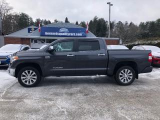 Used 2017 Toyota Tundra Limited  for sale in Flesherton, ON