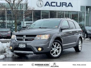 Used 2013 Dodge Journey R/T AWD for sale in Markham, ON