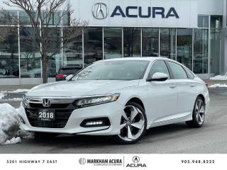 Used 2018 Honda Accord 1.5T Touring CVT for sale in Markham, ON