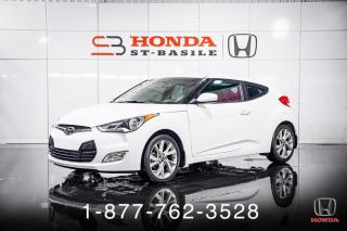 Used 2016 Hyundai Veloster SE + A/C + CAMERA + PUSH BUTTON + WOW! for sale in St-Basile-le-Grand, QC
