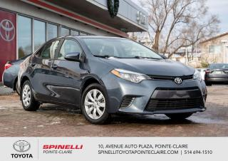 Used 2016 Toyota Corolla LE for sale in Pointe-Claire, QC