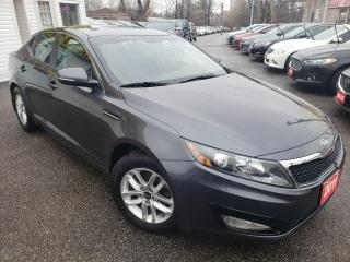 Used 2011 Kia Optima FULLYLOADE/P.SEAT/BLUETOOTH/FOGLIGHTS/ALLOYS for sale in Scarborough, ON