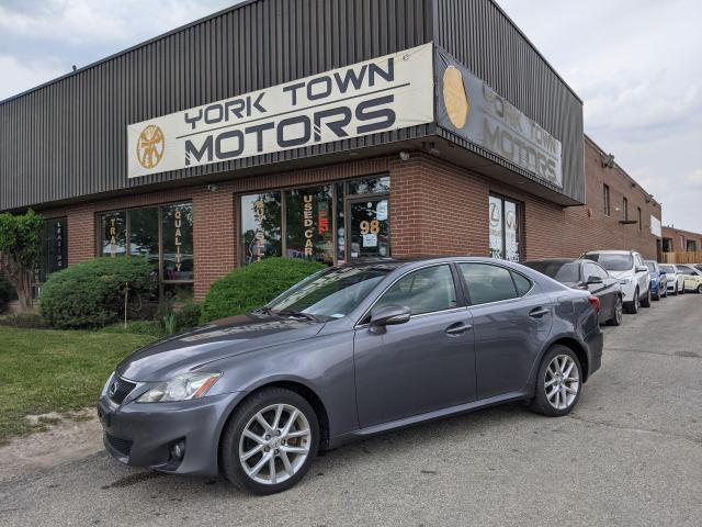 2012 Lexus IS 250 AWD/Bluetooth/Heated seats/Sunroof/No accident