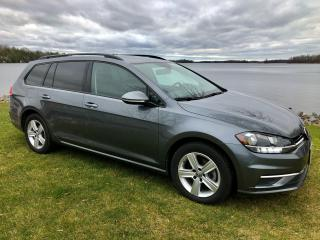 Used 2019 Volkswagen Golf SportWagen Comfortline with only 28500 km $92 weekly for sale in Perth, ON