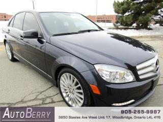 Used 2011 Mercedes-Benz C-Class C250 - 4MATIC for sale in Woodbridge, ON
