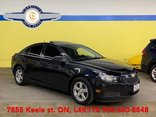 Used 2014 Chevrolet Cruze 2LT Leather, Sunroof, for sale in Vaughan, ON