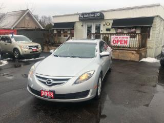 Used 2013 Mazda MAZDA6 GS for sale in Sutton, ON