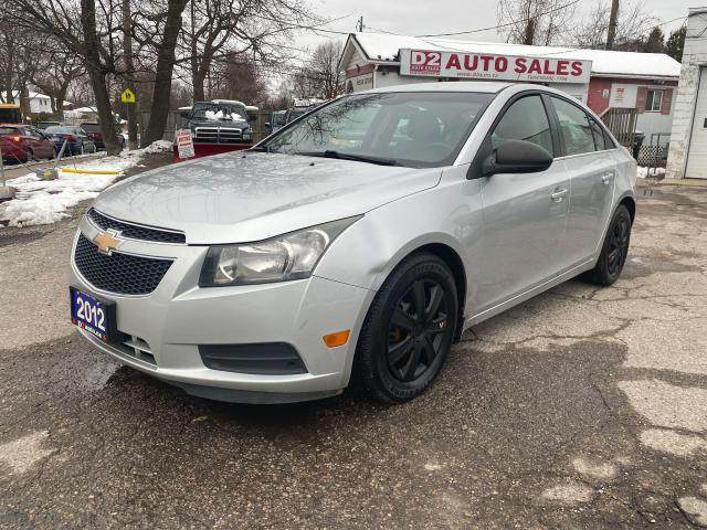 2012 Chevrolet Cruze 4 Cylinder Gas Saver/6Speed Manual/Comes Certified